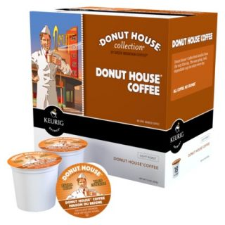 Donut House Collection Donut House Coffee Keurig K Cups, 18 Ct.