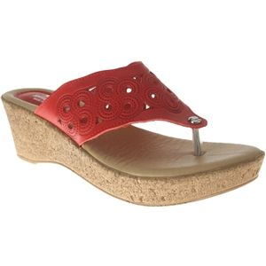Spring Step Womens Foamy Red Sandals   Foamy R