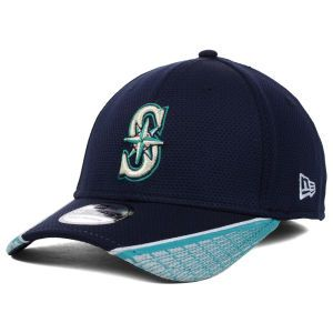 Seattle Mariners New Era MLB Vertical Strike 39THIRTY Cap