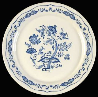 Corning Blue Floral Luncheon Plate, Fine China Dinnerware   Corelle,Blue Floral,