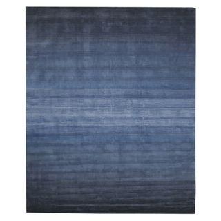 Hand Tufted Wool Blue Horizon Rug