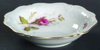 Royal Heidelberg Rose Brier (White) Fruit/Dessert (Sauce) Bowl, Fine China Dinne