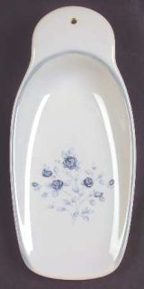 Pfaltzgraff Poetry Glossy Butter Scooter, Fine China Dinnerware   Glossy, Newer,