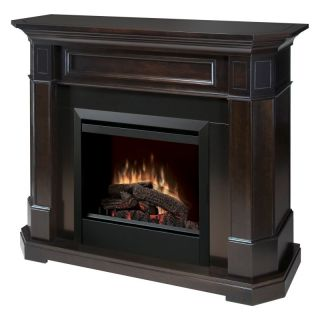 Dimplex Tamora 23 in. Electric Fireplace   Espresso Dark Brown   DFP4824E