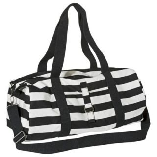 Mossimo Supply Co. Striped Weekender Handbag with Removable Crossbody Strap