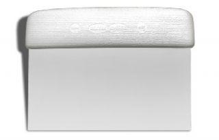 Dexter Russell Sani Safe 6 in x 3 in Dough Cutter/Scraper, Polypropylene Handle