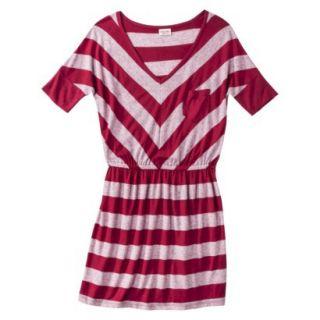 Mossimo Supply Co. Juniors V Neck Dress   Cranberry Zing XXL(19)
