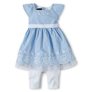 Wendy Bellissimo 2 pc. Dress Set   Girls 6m 24m, Kentucky B, Girls
