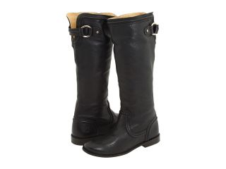 Frye Paige Trapunto Womens Pull on Boots (Black)