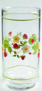 Corning Strawberry Sundae 14 Oz Glassware Tumbler, Fine China Dinnerware   Corel