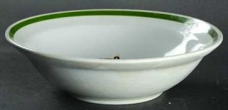 Montgomery Ward Holiday Coupe Cereal Bowl, Fine China Dinnerware   Christmas Tre