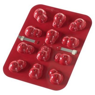Nordic Ware Snowman Cake Pops Pan   Red