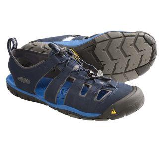 5cbf8825af ... Keen Cascade CNX Sport Sandals (For Men) NEUTRAL GREY SUPER LEMON (11  ...