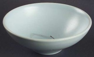 Edwin Knowles Grass Soup/Cereal Bowl, Fine China Dinnerware   Russel Wright,Aqua