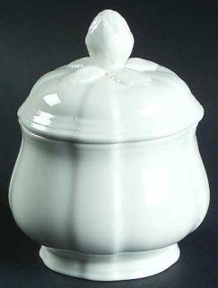 Villeroy & Boch Chambord (White,Fine China,Germany) Sugar Bowl & Lid, Fine China