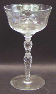 Rock Sharpe Salon  Champagne/Tall Sherbet   Stem #1023,Cut