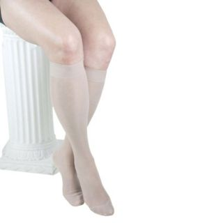 GABRIALLA Knee Highs   Medium Compression (18  20 mmHg)   Nude L