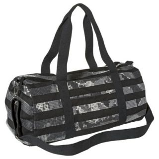 Mossimo Supply Co. Striped Sequin Weekender Handbag with Removable Crossbody