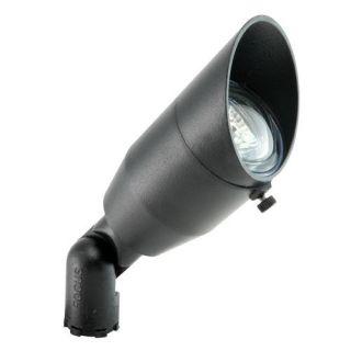 Focus Lighting DL22BLT 12V 20W Aluminum Adjustable Swivel Bullet Directional Light Black Texture