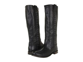 Frye Paige Stud Womens Pull on Boots (Black)