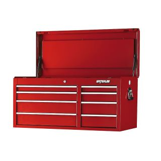 Waterloo Professional Series Tool Chest   40.5X18x20   8 Drawers   Red