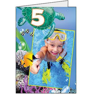 Under The Sea Giant Greeting Card