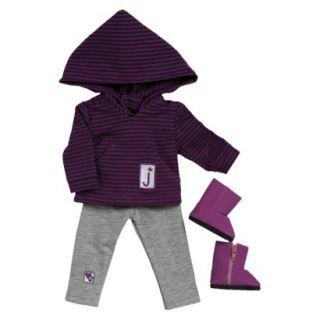 Adora 18 Doll Clothes   Girl Scout Jr. Hooded Shirt/Leggings Set