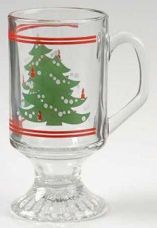 Waechtersbach Christmas Tree Glassware Mug, Fine China Dinnerware Red W/Xmas T