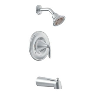 Moen T62133 Shower Trim, Eva Series PosiTemp SingleHandle Set Chrome
