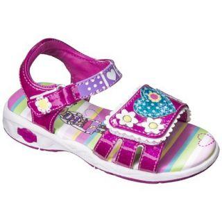 Toddler Girls Doc McStuffins Gladiator Sandals   Pink 8