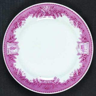 Wedgwood United States Military Academy Red Luncheon Plate, Fine China Dinnerwar