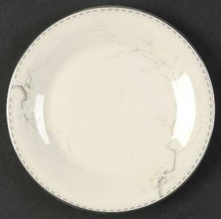 Royal Doulton Angela Bread & Butter Plate, Fine China Dinnerware   Blue Branch W