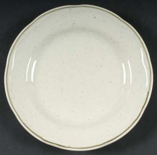 Felice Ivory Salad Plate, Fine China Dinnerware Chris Madden,All Ivor