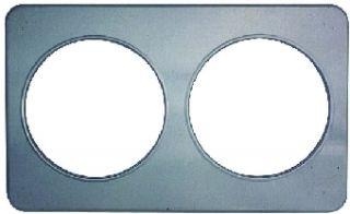 Duke Adaptor Plate   2, 8.5 in Holes   Stainless Steel