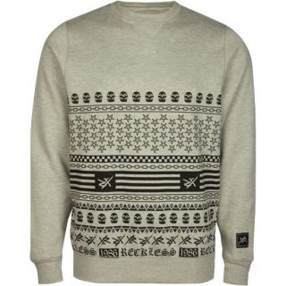 Evil Dark Mens Sweatshirt Heather Grey In Sizes Medium, Small,