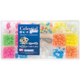 Bead Box Celestial Glow Kit (package Of 982 Piece)