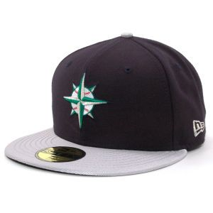 Seattle Mariners New Era MLB Cooperstown 59FIFTY Cap