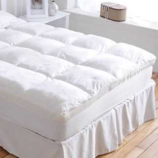 Isotonic IsoLoft Complete Comfort System Mattress Topper, White