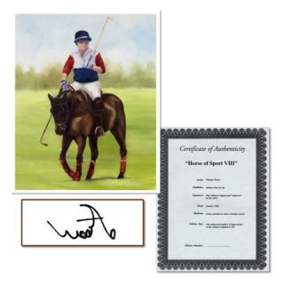 Trademark Global Inc Horse of Sport VIII Canvas Art by Michelle Moate