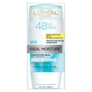 LOreal Paris Ideal Moisture Day Lotion for Sensitive Skin SPF 25