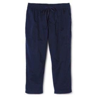 Merona Womens Plus Size Weekend Wear Pants   Navy X