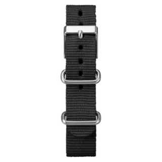 Timex Midsize Weekender Replacement Strap   Black