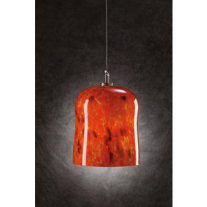 PLC Lighting PLC 365 RED Fuzio Mini Pendant / 1 Light Halogen 12v. 50W