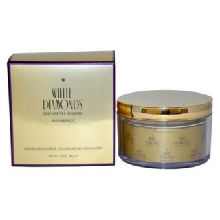 Womens White Diamonds by Elizabeth Taylor Perfumed Body Powder   5.3 oz