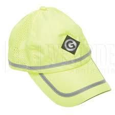 Greenlee 0476101 High Visibility Ball Cap, Yellow ANSI Compliant
