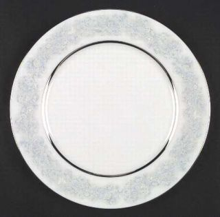 Oxford (Div of Lenox) Twilight Dell Dinner Plate, Fine China Dinnerware   Blue A