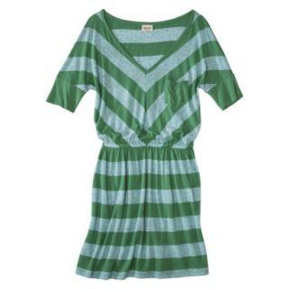 Mossimo Supply Co. Juniors V Neck Dress   Trinidad Green XXL(19)