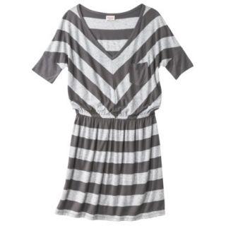Mossimo Supply Co. Juniors V Neck Dress   Flat Gray XS(1)