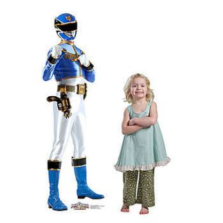 Blue Power Ranger Standee