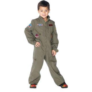 Boys Top Gun Flight Suit Costume